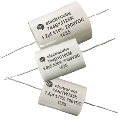 Electrocube 744B Metallized Combination High Current Film Capacitors IGBT Snubber from New Yorker Electronics