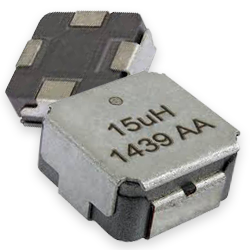 Vishay Dale Super 12 IHLE-5A Series of Low-Profile, High-Current Power Inductors with E-Field Shield from New Yorker Electronics