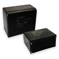 Vishay Roederstein MKP1847H AC Filtering Metalized Polypropylene Film Capacitors from New Yorker Electronics