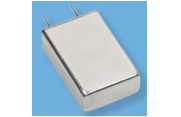 Cornell Dubilier MLSH Hermetic Aluminum Electrolytic Capacitor with Glass-to-Metal Seal