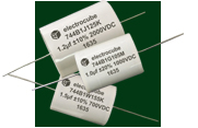 Electrocube 744B Series of Metallized Combination Capacitors IGBT Snubber