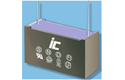 Illinois Capacitor all-weather MPX/MPXB Series of X2 Class metalized polypropylene capacitors